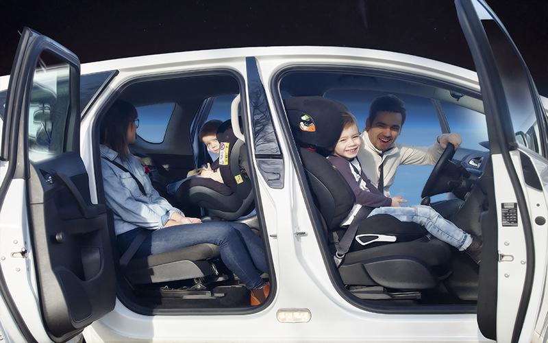Trearingar utsatta i bilen 1