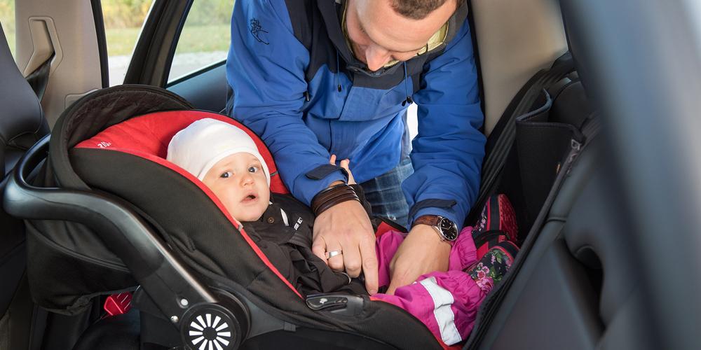 Uthyrning av bilbarnskydd